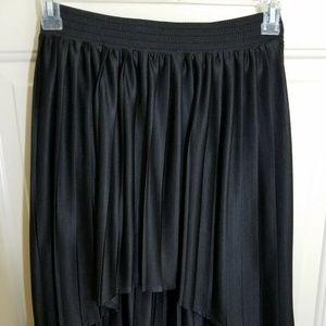 FOREVER 21 Womens Medium Skirt Black Pleated